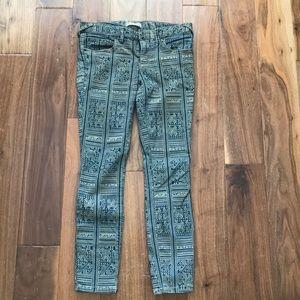 Free people pattern pants
